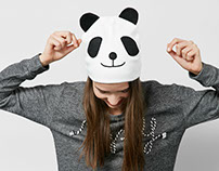 Panda bennie for Aw16 Bershka Collection