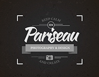 Pariseau Photography & Design Logo