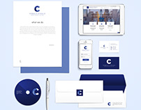 Brand Identity Suite - Cobalt Steele