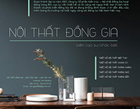 (Study-Project) Dong Gia Furniture
