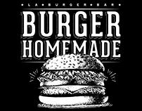 Poster • La Burger Bar •