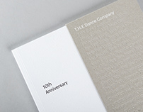 T.H.E Dance Company 10th Anniversary publication