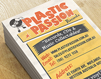 Plastic Passion Business Cards