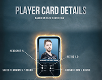 Pro Player Steam Card Concept