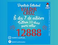 Mídia Digital - Deputado Estadual Valdir Cruz