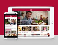 Watch Food Network mobile app