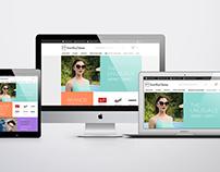 UI/UX Drafts for SmartBuyGlasses New Website