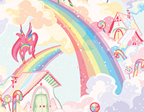 Little transfer Unicorns Book Usborne publishing