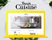 Du bruit dans la cuisine - redesign - webdesign
