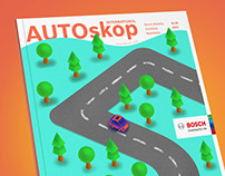 Autoskop Magazine Cover Design