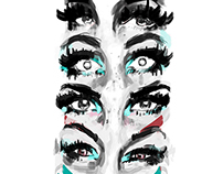Quick Eyes. sketches