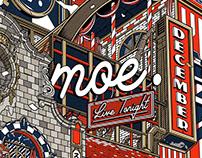Moe. Utica Poster コンサート