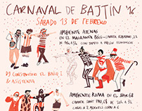 Poster for the Bajtin Carnival '16