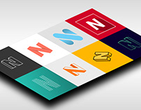 """N"" Logo + Web Design"