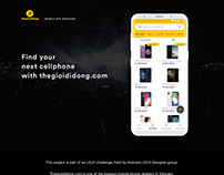 Cellphone store app_Redesign