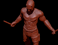 Daredevil (Netflix series) game ready model -- WIP --