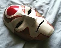 Legend of Korra Amon 3D Printed Mask