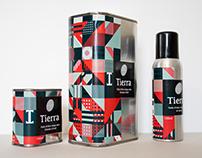 Tierra's packaging olive oil