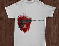 T-shirt for http://www.gunhuggerholsters.com