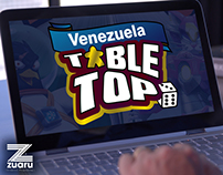 Venezuela Tabletop Website (Design & Development)