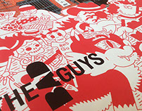 Poster for the Bad Guys concept store