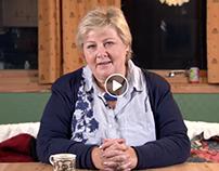 Erna Solberg's last election speech