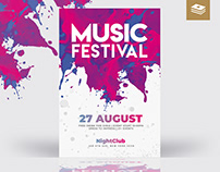 Music Festival Psd Flyer
