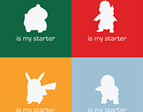 What is Your Starter: Pokemon T-Shirt Design