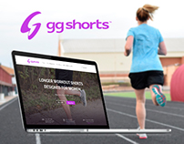 Homepage for GG Shorts