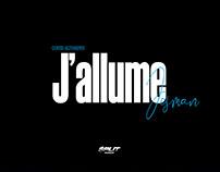 """Cover JOSMAN """"J'allume"""""""