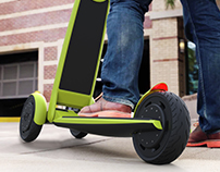 Journeyman: Electric Scooter Concept
