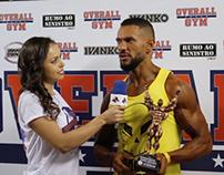 Estreantes NABBA 2016 Overall GYM
