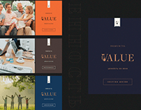 Value - tea logo and packaging design