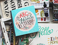 The ABCs of Hand Lettering book