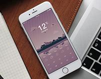 Weather App - UI/UX/Visuals.