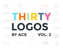 Thirty Logos Challenge Logofolio Vol. II