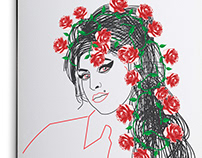 Digital Vector illustrations Portraits- Soulful ladies