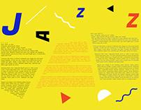 JAZZ MUSIC Exhibition Design