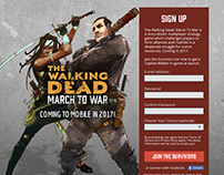 The Walking Dead March to War Signup Page (Version 2)
