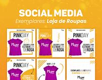 Social Media: Loja de Roupas