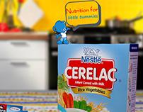 Blender Nestle Cerelac (Advertisment Concept)