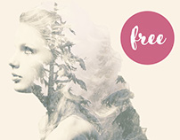 Free Double Exposure Photoshop Action