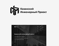Сайт-портфолио для Казанского инженерного проекта