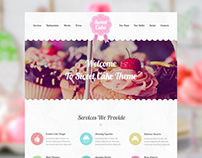 Sweet Cake WordPress Theme
