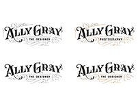 Ally Gray Logo Design
