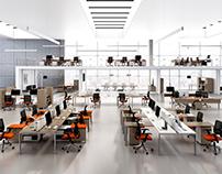 CGI | Office Furniture | Operative Desks