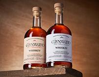 GLENWOOD Whiskey labels