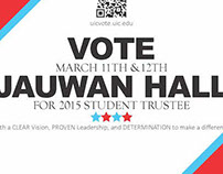 Jauwan Hall UIC Student Trustee Campaign