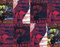 Kylian Mbappé Poster Series – 2018