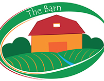 """The Barn"" logo"
